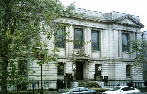 1700 rue St-Denis, Montréal Bibliothèque Saint-Sulpice - Avant - Groupe Écobrick Inc.