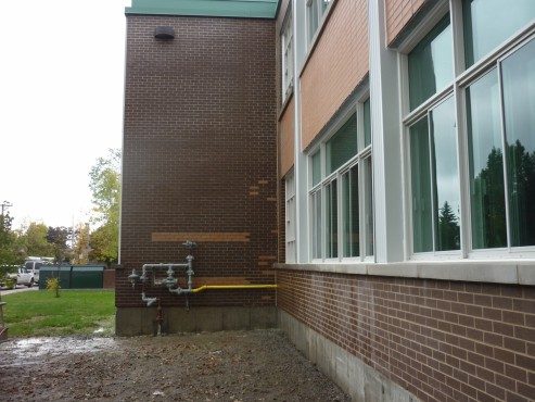Après - 4770 rue Lalande, Pierrefond École Pierce Neige - Décapage